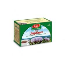 Ceai anghinare, frunze