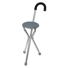 Baston cu scaun pliabil